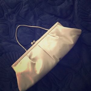 Gold tone Kate Landry Versatile Clutch